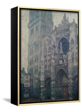 Rouen Cathedral, West Portal, Grey Weather, 1894 by Claude Monet