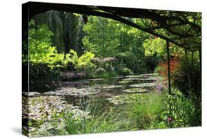 Claude Monet's Water Garden in Giverny, Department of Eure, Upper Normandy, France