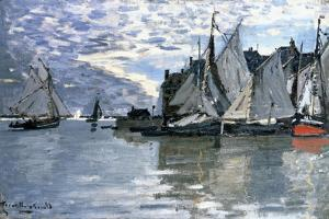 Sailing Boats, C.1864-1866 by Claude Monet