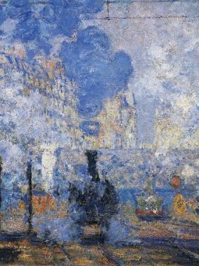 Saint Lazare Station, 1877 by Claude Monet