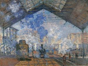 Saint Lazare Station by Claude Monet