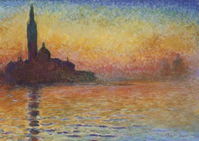 San Giorgio Maggiore at Dusk, 1908 by Claude Monet