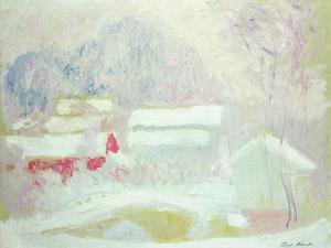 Sandviken, Norway, 1895 by Claude Monet