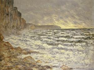 Seafront, Fecamp, 1881 by Claude Monet