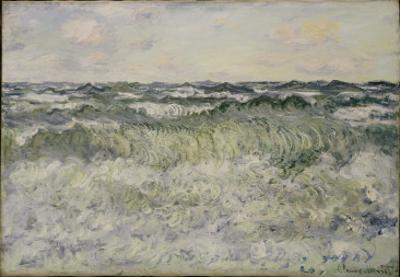 Seascape, 1881 by Claude Monet
