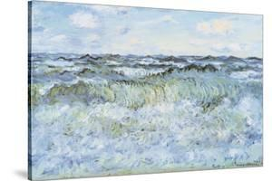 Seascape by Claude Monet