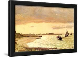 Claude Monet Seaside at Sainte-Adresse Art Print Poster