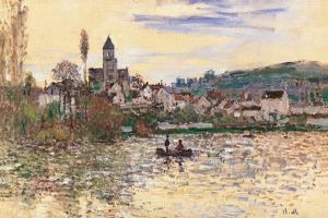 Seine at Vetheuil by Claude Monet