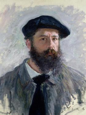 Self Portrait with a Beret, 1886 by Claude Monet