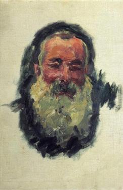 Self Portrait by Claude Monet