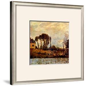 Small Boat on Water by Claude Monet