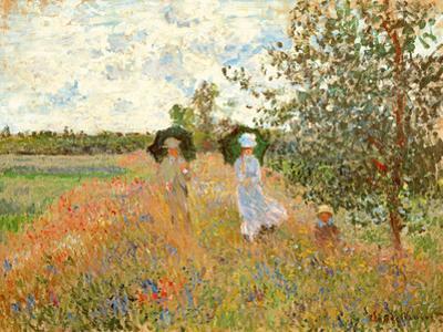 Spaziergang bei Argenteuil by Claude Monet