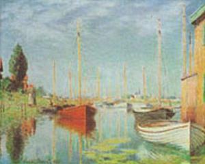 Sport Boats by Claude Monet