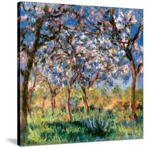 Spring in Giverny by Claude Monet