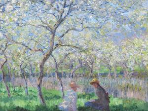 Springtime, 1886 by Claude Monet