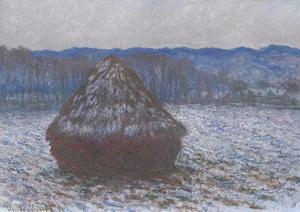 Stack of Wheat, 1890-91 by Claude Monet