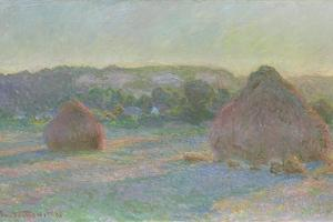 Stacks of Wheat, End of Summer, 1890-91 by Claude Monet