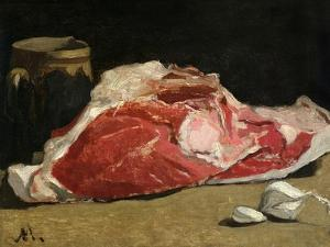 Still Life, the Joint of Meat, 1864 by Claude Monet
