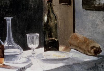 Claude Monet Still Life with Bottles Art Print Poster