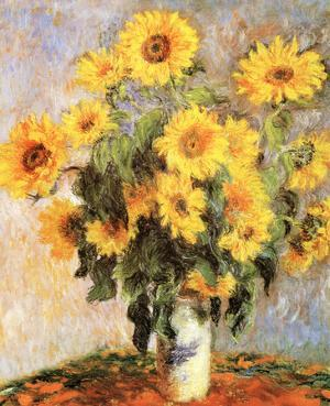 Sunflowers, c.1881 by Claude Monet