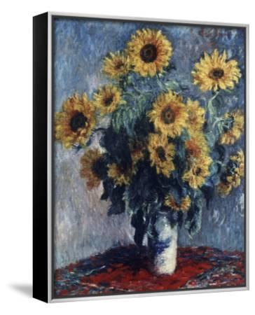 Sunflowers by Claude Monet