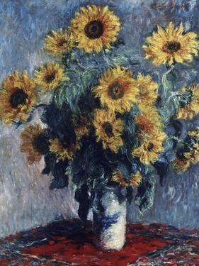 Sunflowers by Claude Monet