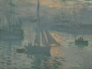 Sunrise (Marine), 1873 by Claude Monet