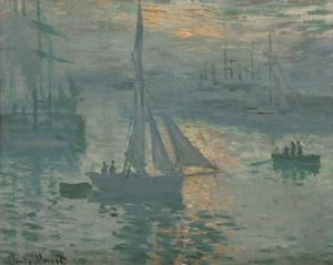 Sunrise (Marine) by Claude Monet