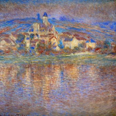 Sunset in Vetheuil, 1900