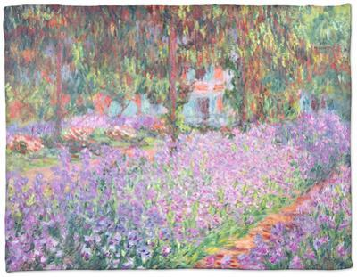 The Artist's Garden at Giverny, 1900 by Claude Monet