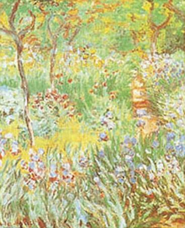 The Artist's Garden at Giverny, c. 1900 by Claude Monet