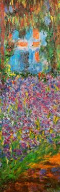The Artist's Garden at Giverny (detail) by Claude Monet