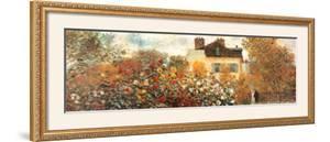The Artist's Garden in Argenteuil (detail) by Claude Monet