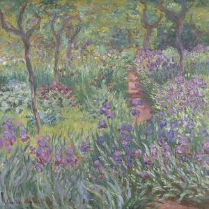 The Artist'S Garden in Giverny, 1900 by Claude Monet