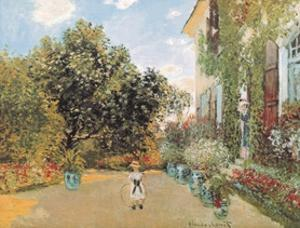 The Artist's House by Claude Monet