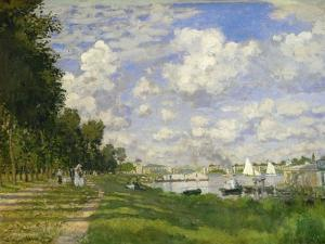 The Basin At Argenteuil, Ca. 1872 by Claude Monet