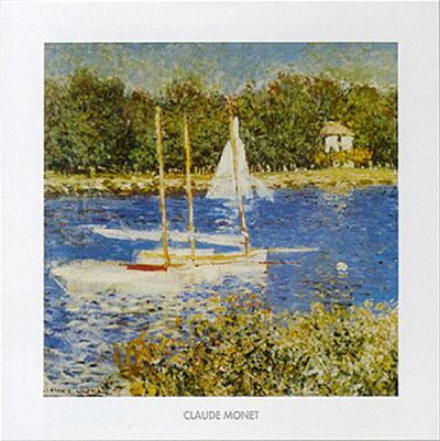 Claude Monet Poster Seine bei Argenteuil