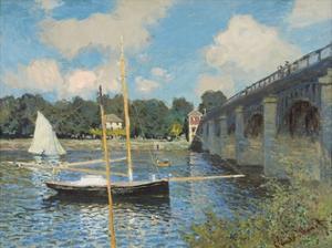 The Bridge at Argenteuil, 1874 by Claude Monet