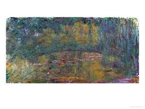 The Bridge at Giverny, 1918 by Claude Monet