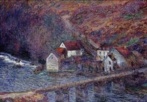 The Bridge at Vervy, 1889 by Claude Monet
