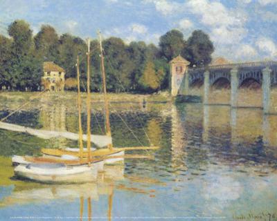 The Bridge in Argenteuil by Claude Monet