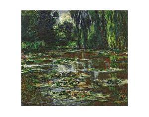 The Bridge Over the Water Lily Pond, c.1905 by Claude Monet