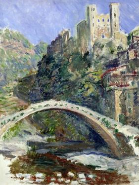 The Castle of Dolceacqua, 1884 by Claude Monet