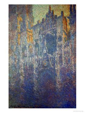 The Cathedral at Rouen, in the Fog, circa 1893 by Claude Monet