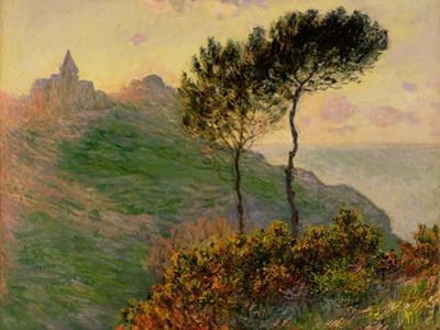 The Church at Varengeville, Against the Sunlight, 1882 by Claude Monet