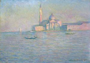 The Church of San Giorgio Maggiore, Venice, 1908 by Claude Monet