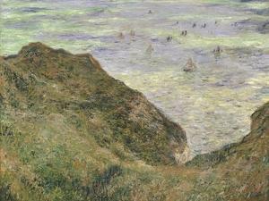 The Cliff at Pourville by Claude Monet