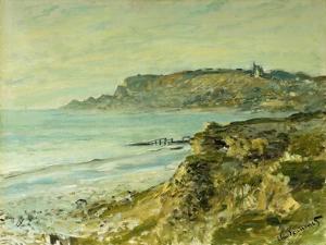 The Cliffs at Saint Adresse; La Falaise De Saint Adresse, 1873 by Claude Monet