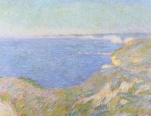 The Cliffs near Dieppe, c.1897 by Claude Monet
