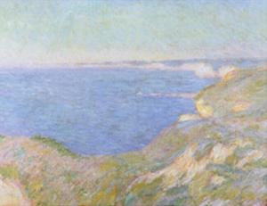 The Cliffs near Dieppe, c.1897 by Claude Monet